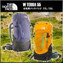 ■ ザ ノースフェイス/THE NORTH FACE レディースバックパック テラ 55 W TERRA 55 リュック 2泊3日程度のテント泊に…