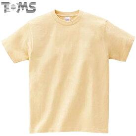 トムス Tシャツ ジュニア キッズ 無地 半袖Tシャツ ショートスリーブTシャツ S/S Tシャツ キングオブTシャツ 5.6OZ 100-160 トップス シンプル TOMS 00085NA