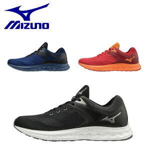 ミズノ メンズ レディース ランニングシューズ スニーカー 靴 ウエーブポラリスSP マルチランニングシューズ クッション性 安定性 ユニセックス J1GC1983 MIZUNO