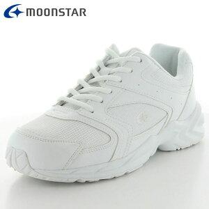 ムーンスター シューズ メンズ レディース MS ADV01 ホワイト 12321651 スニーカー 雨の日も履ける防水設計 ウォーキングから通学履きなどにおすすめ 3E 洗えるインソール