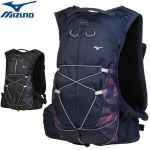 ミズノ バッグ メンズ レディース ユニセックス BAG バックパック 5L リュック ナップサック ショルダーベルト ボトルポケット付き 用具 小物 アクセサリー ウエア ランニング スポーツウエア