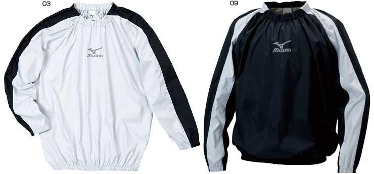 MIZUNO ミズノ フィットネスウエア A60WS054 ウインドブレーカーシャツ アスタースーツ サウナスーツ 減量 ダイエット トレーニング ウエイトコントロール メンズ