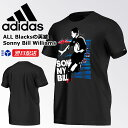 ☆☆アディダス ラグビー Tシャツ 半袖 BFJ31 Sonny Bill Williams ブラック adidas【あす楽】