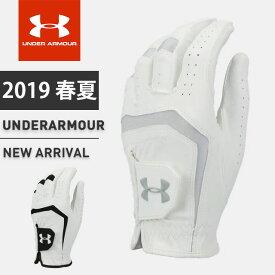 ネコポス アンダーアーマー メンズ ゴルフ グローブ 手袋 1331180 UA バーディー ゴルフグローブ 2.0 ヒートギア 耐久性 グリップ性