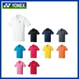 YONEX ヨネックス テニス・バドミントン ゲームウェア 10300 ポロシャツ スタンダードサイズ 半袖 ユニセックス
