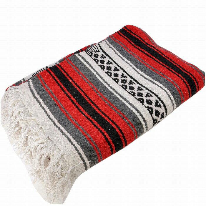 エルパソサドルブランケット (El Paso SADDLEBLANKET) New West Traditional Falsa Blanket/ニューウェストファルサブランケット[約188×142cm]RED