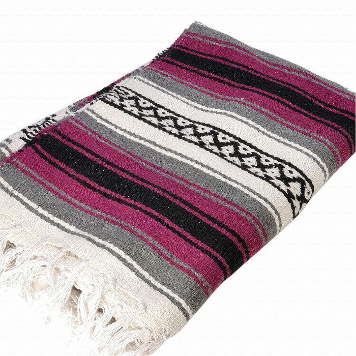 エルパソサドルブランケット (El Paso SADDLEBLANKET) New West Traditional Falsa Blanket/ニューウェストファルサブランケット[約188×142cm]DK.CHERRY