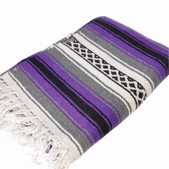 エルパソサドルブランケット (El Paso SADDLEBLANKET) New West Traditional Falsa Blanket/ニューウェストファルサブランケット[約188×142cm]PURPLE