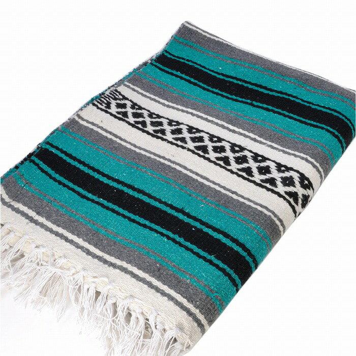 エルパソサドルブランケット (El Paso SADDLEBLANKET) New West Traditional Falsa Blanket/ニューウェストファルサブランケット[約188×142cm]TEAL