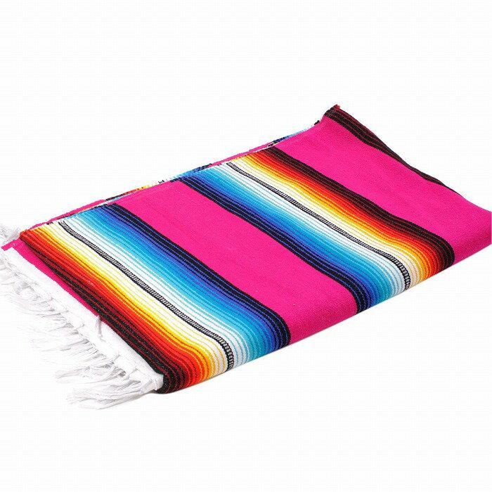 エルパソサドルブランケット (El Paso SADDLEBLANKET) Classic Fire&Ice Serape Blanket/クラシックサラペブランケット[約213×152cm]PINK