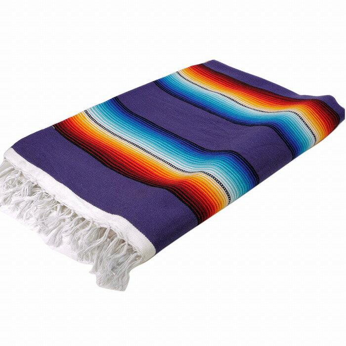 エルパソサドルブランケット (El Paso SADDLEBLANKET) Classic Fire&Ice Serape Blanket/クラシックサラペブランケット[約213×152cm]PURPLE