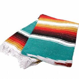 モリーナインディアンブランケット (Molina Indian Blanket) Diamond Design Blanket/ダイヤモンドデザインブランケット[約198×137cm]TEAL