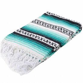 モリーナインディアンブランケット (Molina Indian Blanket) Heavy Weight Falza Blanket/ヘビーウェイトファルサブランケット[約198×137cm]TEAL/MINT