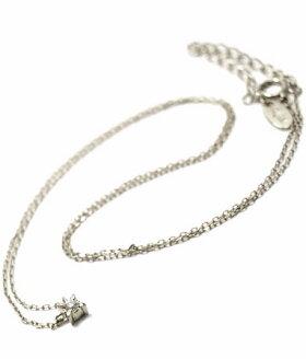 K18ゴールドペンダントネックレス/アンジェラANGELA/シューティングスターネックレスK18ホワイトゴールドネックレスレディースおしゃれかわいいプレゼント