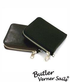 二つ折り財布 革財布 使いやすい財布 日本製 本革 バトラーバーナーセイルズ ButlerVernerSails / ホースレザー 馬革 柔らかい 軽い メンズ レディース さいふ 小銭入れ おしゃれ カジュアル 30代 40代 50代 ファッション