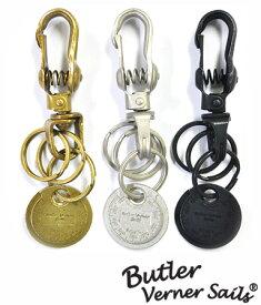 ギャップツールキーホルダー 日本製 バトラーバーナーセイルズ ButlerVernerSails / キーチェーン 鍵 メンズ レザー 牛革 おしゃれ アウトドア スポーツ カジュアル 30代 40代 50代 ファッション