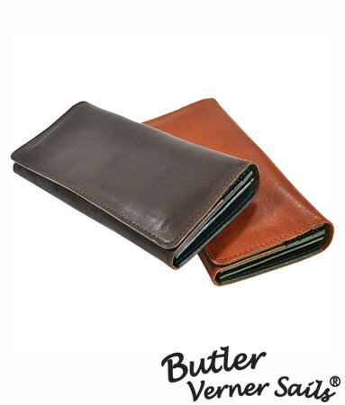 長財布 とにかく 使いやすい財布 二つ折り財布 日本製 本革 レザー バトラーバーナーセイルズ ButlerVernerSails / メンズ レディース 牛革財布 さいふ 小銭入れ 大容量 おしゃれ シンプル カジュアル 30代 40代 50代 ファッション