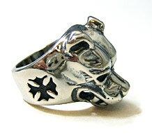 ビルウォールレザーBillWallLeather/ラージドッグヘッドリング[Ring|メンズリング|レディースリング|シルバーリング|シルバー指輪|メンズアクセサリー|シルバーアクセサリー]【smtb-m】【送料無料】【楽ギフ_包装】