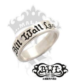 BWL ビルウォールレザー Bill Wall Leather / シルバー925 リング 指輪 / BWL 25th バンド リング 【 メンズ レディース BWL指輪 シルバーアクセサリー おしゃれ クリスマス 】