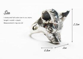 sv925リング指輪/クレイジーピッグCRAZYPIG/スモールピッグヘッドリング指輪リングメンズリングレディースおしゃれ正規品プレゼントシルバー925