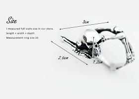 sv925リング指輪/クレイジーピッグCRAZYPIG/スケルトンリング指輪リングメンズリングレディースおしゃれ正規品プレゼントシルバー925