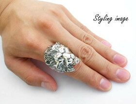 sv925リング指輪/クレイジーピッグCRAZYPIG/ライオンリング指輪リングメンズリングレディースおしゃれ正規品プレゼントシルバー925