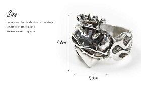 sv925リング指輪/クレイジーピッグCRAZYPIG/スモールサークレッドハートリング指輪リングメンズリングレディースおしゃれ正規品プレゼントシルバー925