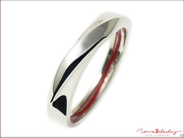 送料無料 シルバー925 リング 指輪 / LOVE of DESTINY ラヴオブデスティニー / STREAM vor.1 運命の愛の糸入り 指輪リング【 指輪 メンズ レディース リング おしゃれ 】
