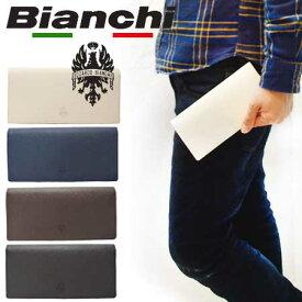 ビアンキ 長財布 ブランド 日本正規品 Bianchi 本革 レザー 二つ折り財布 ロングウォレット 【 メンズ レディース 牛革 小銭入れ おしゃれ とにかく 使い やすい 人気 カジュアル ビジネス カード たくさん 入る 長 財布 20代 30代 40代 50代 ファッション 】