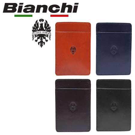 ビアンキ カードケース 日本正規品 Bianchi ビアンキ 本革 レザー 名刺入れ カードケース 【 パスケース カード入れ 定期ケース 大人カジュアル ビジネス メンズ 】