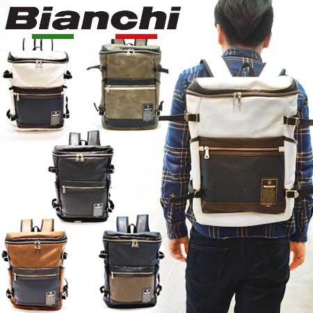 ビアンキ リュックサック 日本正規品 Bianchi ビアンキ 大容量 ヒューズボックス 【 メンズ レディース バッグパック メンズビジネスバッグ おしゃれ スクエア型 軽量 軽い 大きめ ポケット たくさん 20代 30代 40代 50代 ファッション ブランド 】【あす楽】
