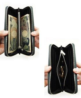 本革レザーラウンドファスナー長財布ロイヤルオーダーROYALORDER/ラージジップジッパーウォレット財布メンズ財布レディースさいふ小銭入れ札入れおしゃれシンプル人気大人カジュアル