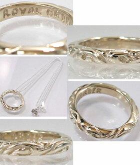K9ゴールドリング指輪/ロイヤルオーダーROYALORDER/リボンバンドK9ゴールドリング【指輪リングメンズリングレディース正規品ゴールドK18K9おしゃれ】