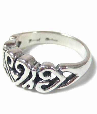ロイヤルオーダー Royal Order 正規 ロイヤルオーダー リング ROYAL ORDER 指輪 送料無料 シルバー925 / ハート バンド リング 【 指輪 リング メンズ リング レディース おしゃれ 】