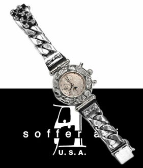 Sofa ant Soffer Ari / XL Quakers Lynx cocaine Aizu S.A. Watchband w/ diamond