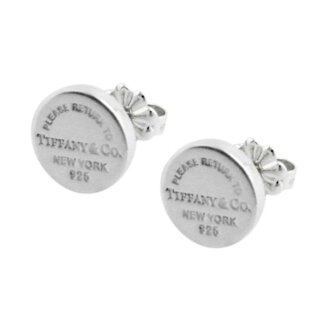 New Arrival Tiffany Co 35236104 Rtt Return To Circle Stud Earrings Ss Men S Women Genuine Brand Fashion Cute Gift 05p28sep16