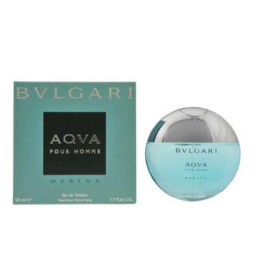 ブルガリ 香水 フレグランス 化粧品 美容 コスメ アクア プールオム マリン EDT/50mL メンズ レディース イタリアブランド