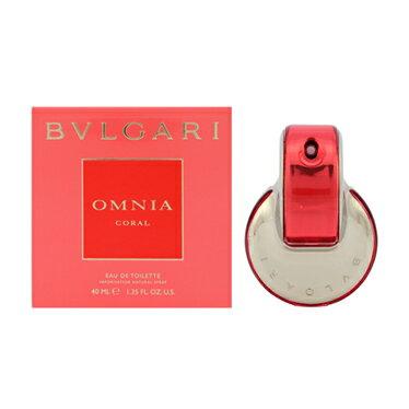ブルガリ 香水 フレグランス 化粧品 美容 コスメ オムニア コーラル EDT/40mL メンズ レディース イタリアブランド