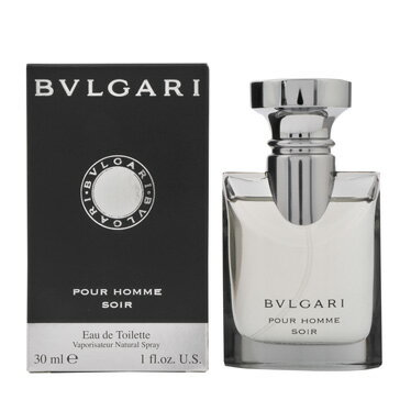 ブルガリ 香水 フレグランス 化粧品 美容 コスメ プールオム ソワール EDT/30mL メンズ レディース イタリアブランド