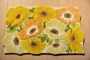 【 送料無料 】 玄関マット 70x120cm イエロー 室内 屋内 おしゃれ 黄色 anemone cho-ane70 人気