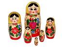【RCP】ロシア伝統柄のマトリョーシカロシヤーノチカ 6個組13センチ【マトリョーシカ】【kitchen_frship】