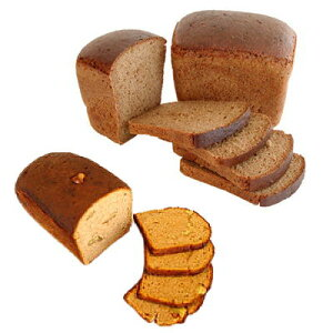 【RCP】ロシアの味 黒パン3本セット(プレーン・プレーンカット・クルミ)国内ベーカリーから直送【黒パン】送料無料対象外