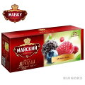 ロシア紅茶МАЙСКИЙマイスキー社ティーバッグ紅茶「フォレスト・ベリー」紅茶ティーバッグ25袋入
