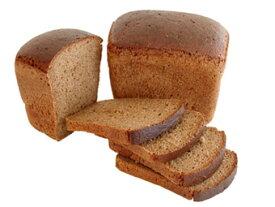 ロシアの黒パン・ライ麦90%(カット)国内ベーカリーから直送【黒パン】送料無料対象外