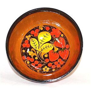 ホフロマ塗小鉢ボウルいちご直径14cm