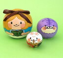 Spillaマトリョーシカ「不思議の国のアリス」6cm だんご型3個組プレゼントにも最適!【マトリョーシカ】