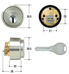 GOAL 交換用シリンダー 鍵 V-LX 5シル ディンプルキー3本付