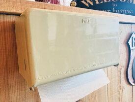 DULTON Tissue Dispenser ティッシュディスペンサー IVORY SAX RED YELLOW ダルトン ティッシュケース ペーパータオルホルダー キッチンペーパーホルダー 壁掛け 卓上 オシャレ アイボリー 水色 レッド 赤 黄色 イエロー インテリア雑貨 アメリカンテイスト レトロ