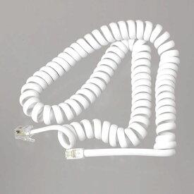 【在庫あり】 YAZAWA テレホン受話器コード 3m 白 TP603W