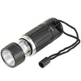 【在庫あり】 YAZAWA LEDストレッチライト 6灯 単4×3本 LL47BK